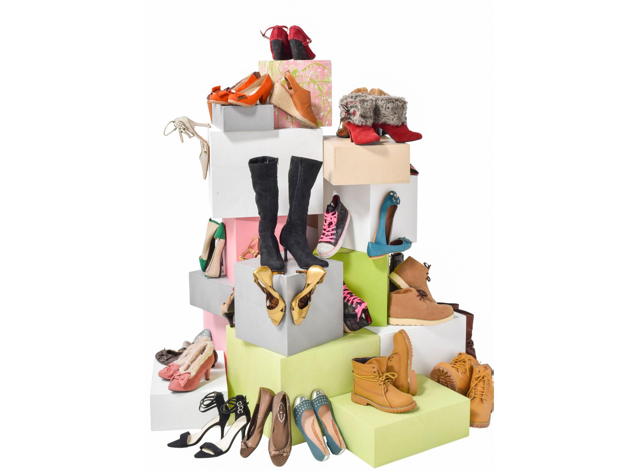 靴集合 オブジェクトVR
