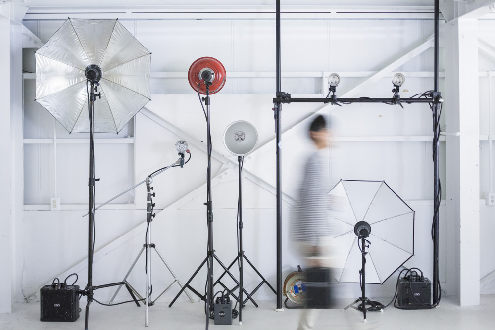 機材 撮影 スタジオ
